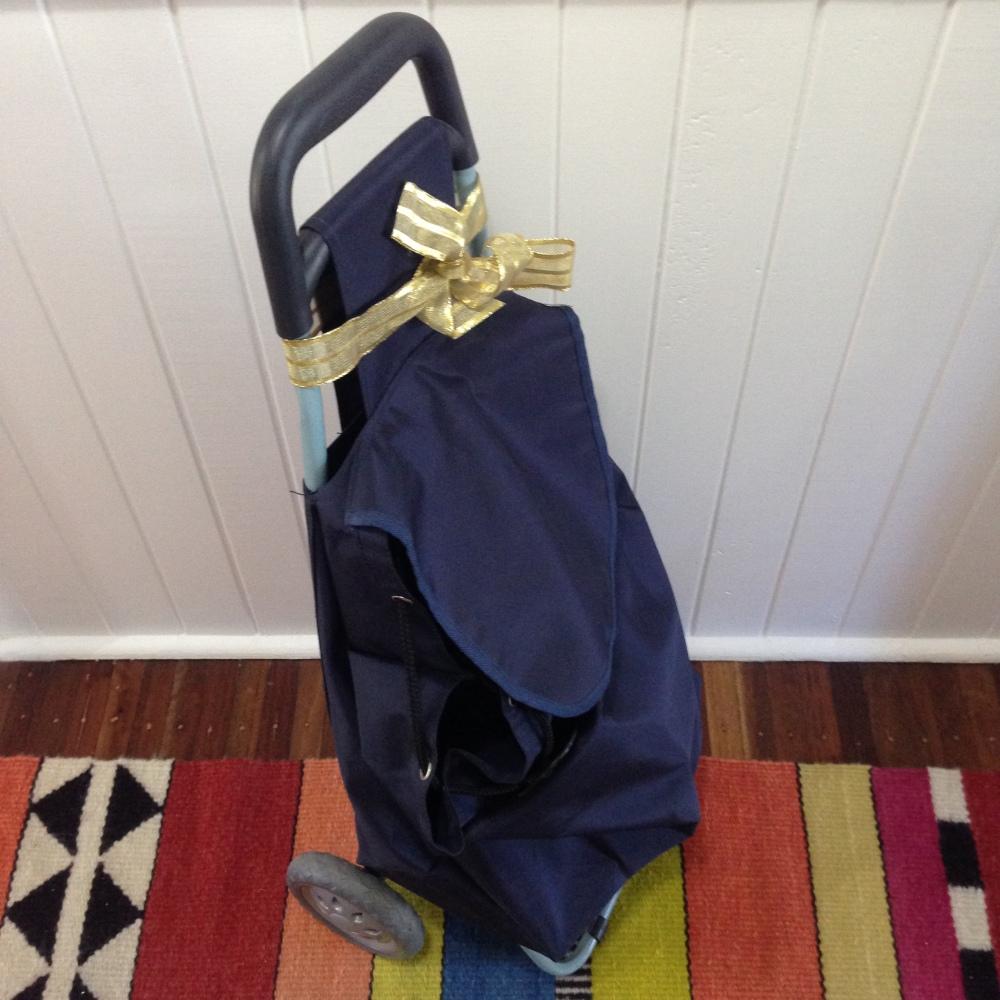 Shopping Bag on Wheels